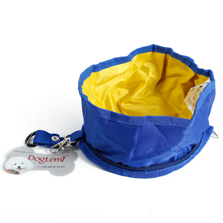 foldable dog travel bowl