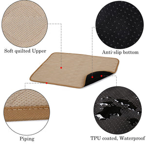 design of breathable dog mat brown QBLEEV