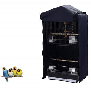 QBLEEV Parrot Birdcage Cover for Square Cage Crate