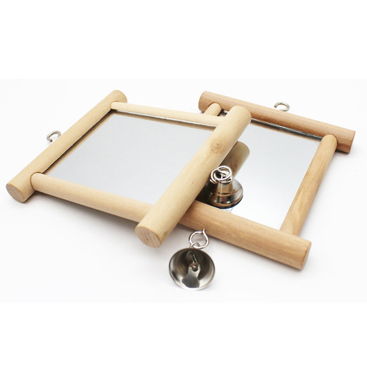 parakeet mirror for cage