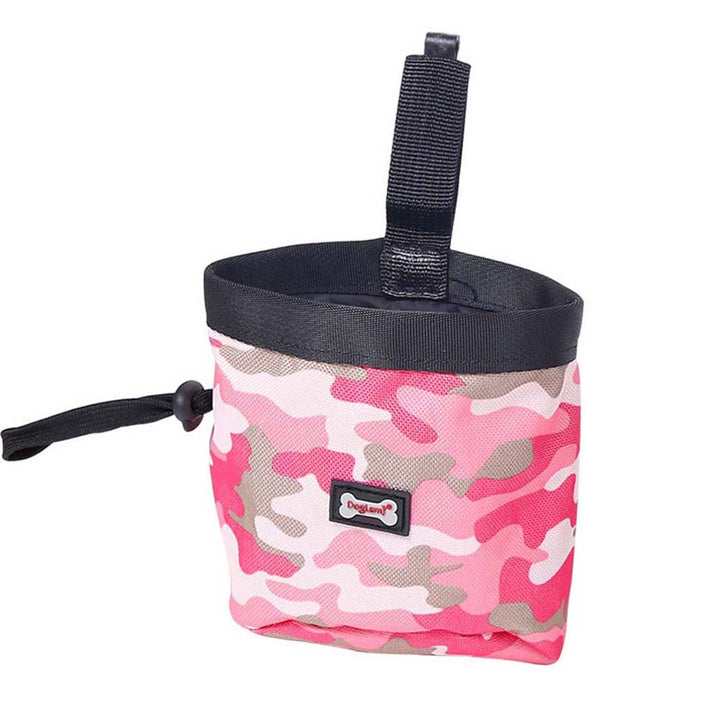 Dog Waste Bag Dispenser Camouflage Pet Garbage Bag Travel Bag Dog Training Snacks Bag