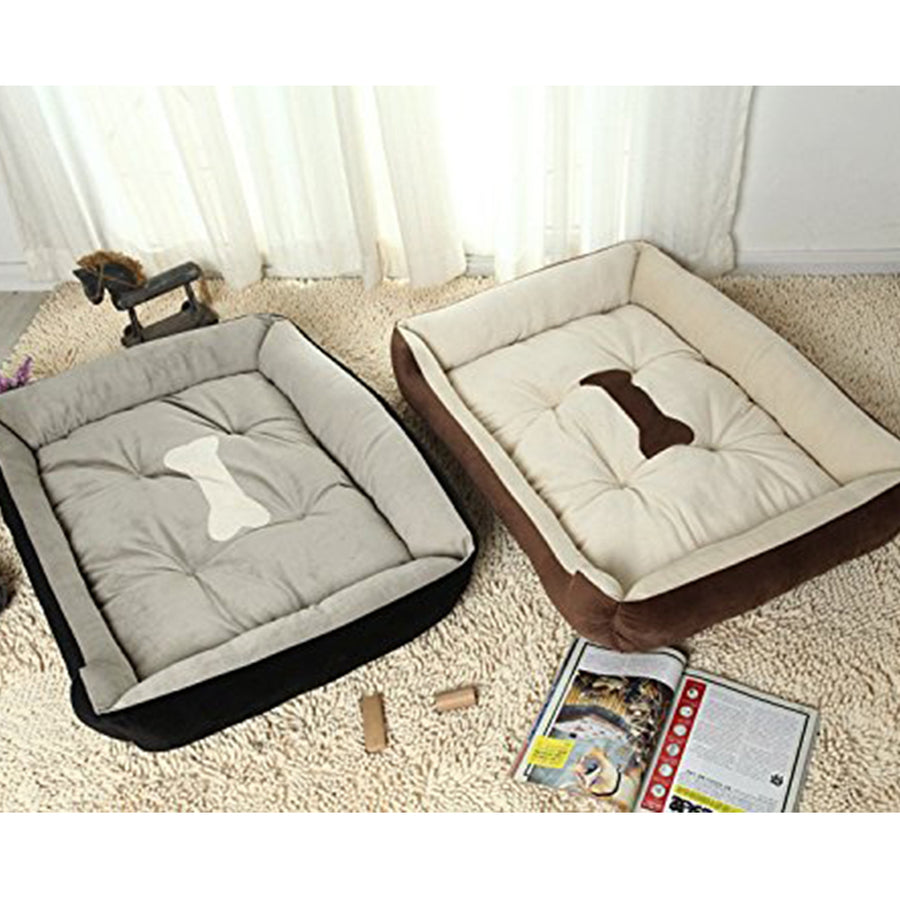 memory foam dog beds QBLEEV