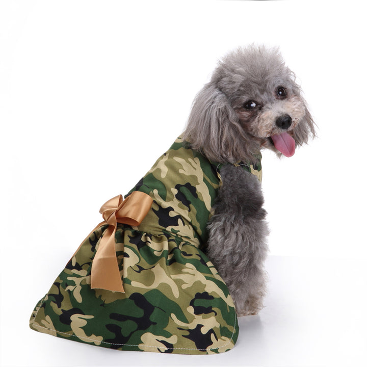 Pet Dog Dress Pup Evening Formal Apparel