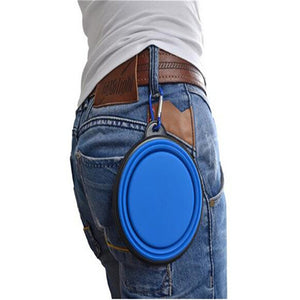 Qbleev Collapsible Dog Bowl =hooked on trouser