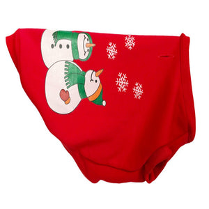 Pet Dog Santa Clothes Vintage Cute Christmas Festive Dog Sweater For Puppy