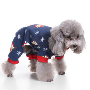 Santa Claus Coat Vest For Dogs & Cats