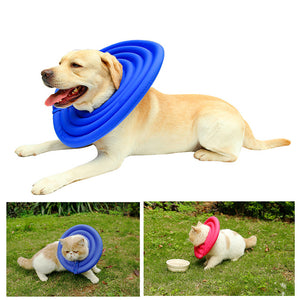 Lightweight Foam Dog Recovery Collar Anti-Bite and Anti-Lick