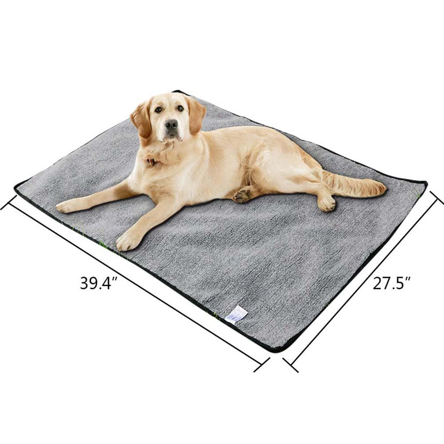 size of reversible dog mat QBLEEV