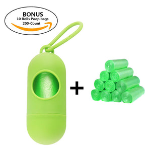 dog poop bag green