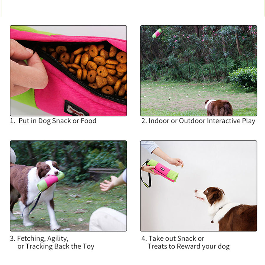 Dog Dummy  Training Pouch, Durable Pet Snack Dummy Bag Food Container