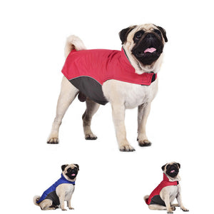 Pet Dog 100% Waterproof Storm Jacket Pet Dog Winter Jacket  Pets Outdoor Thick Vest Costume