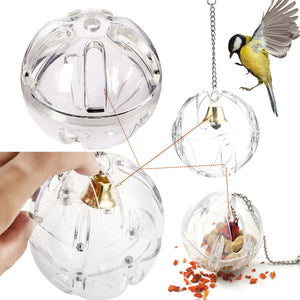 Parrot Foraging Toy With Bell