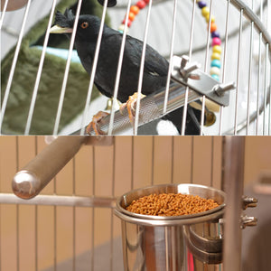 Stainless Steel Bird Play Stand