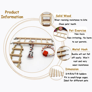 BIRD TOY LADDER INTRODUCTION