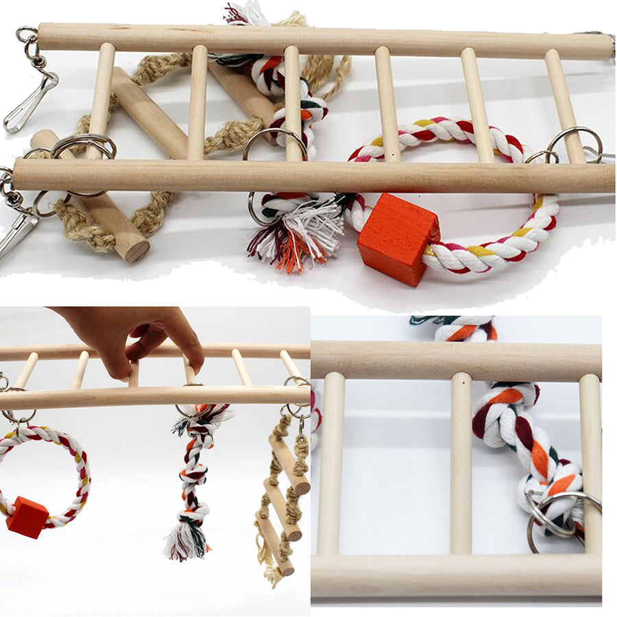 BIRD TOY LADDER DETAIL