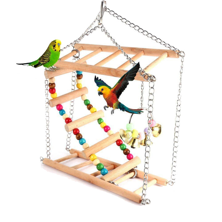 Bird Toy Ladder Qbleev