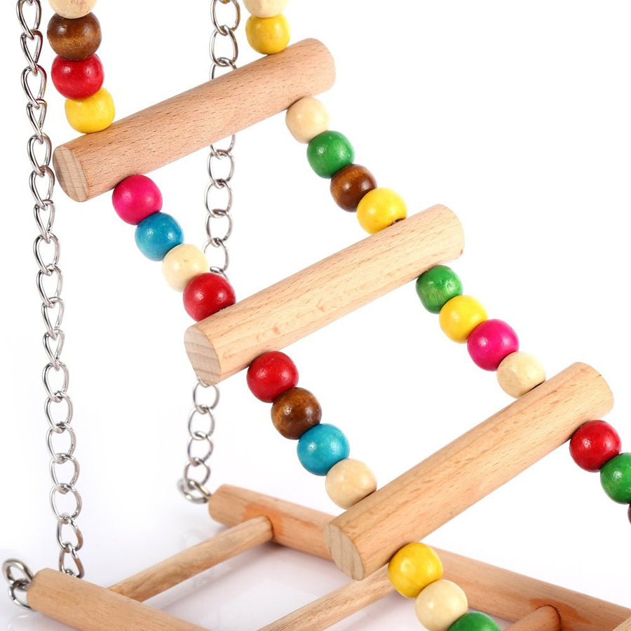Bird Rope Ladder Qbleev