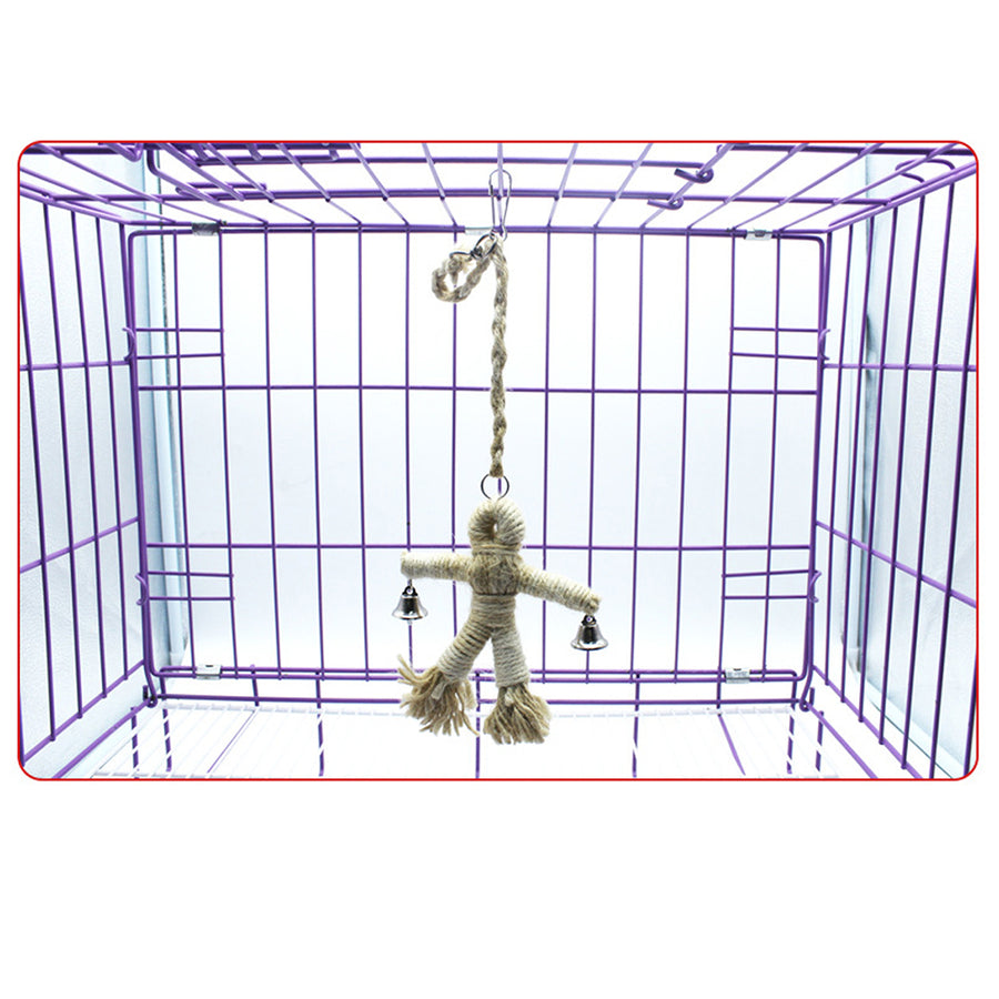 Budgie Toys hang in s cage
