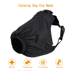 Dog Shade Pet Eye Mask Nylon Anti-excitement And Decompression Mask For Dogs