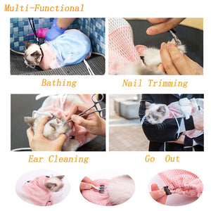 Baby Cat Bath Bag Fixed Bag Multi-function