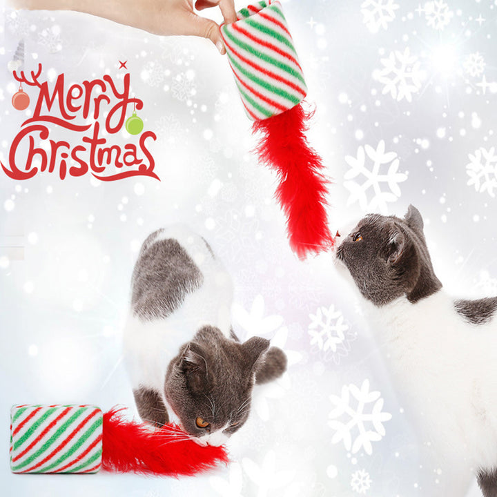 Cat Toys Christmas Kitten Toy