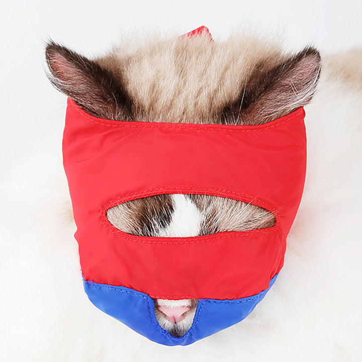 Pet Cat Mask Muzzle For Grooming Cleaning