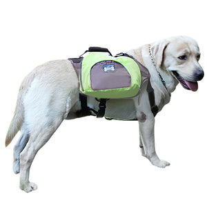 Pet Dog Saddle Bag and Puppy Dog Outdoor Backpack