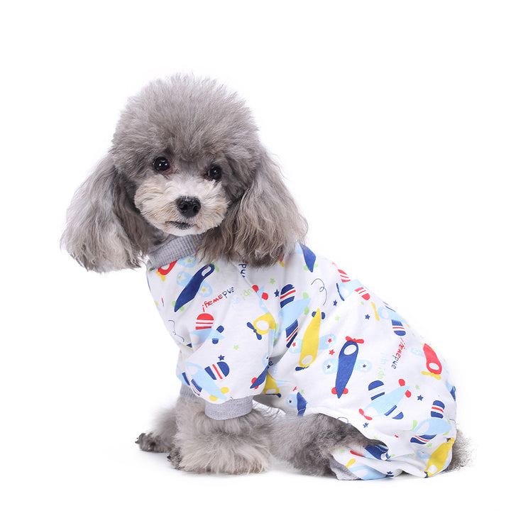 Four-Legged Dog Pajamas Knitted QBLEEV