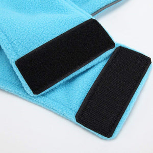 Windproof Winter Warm Fleece Dog Coat Jacket Reflective Soft Pet Dog Vest Apparel Overcoat