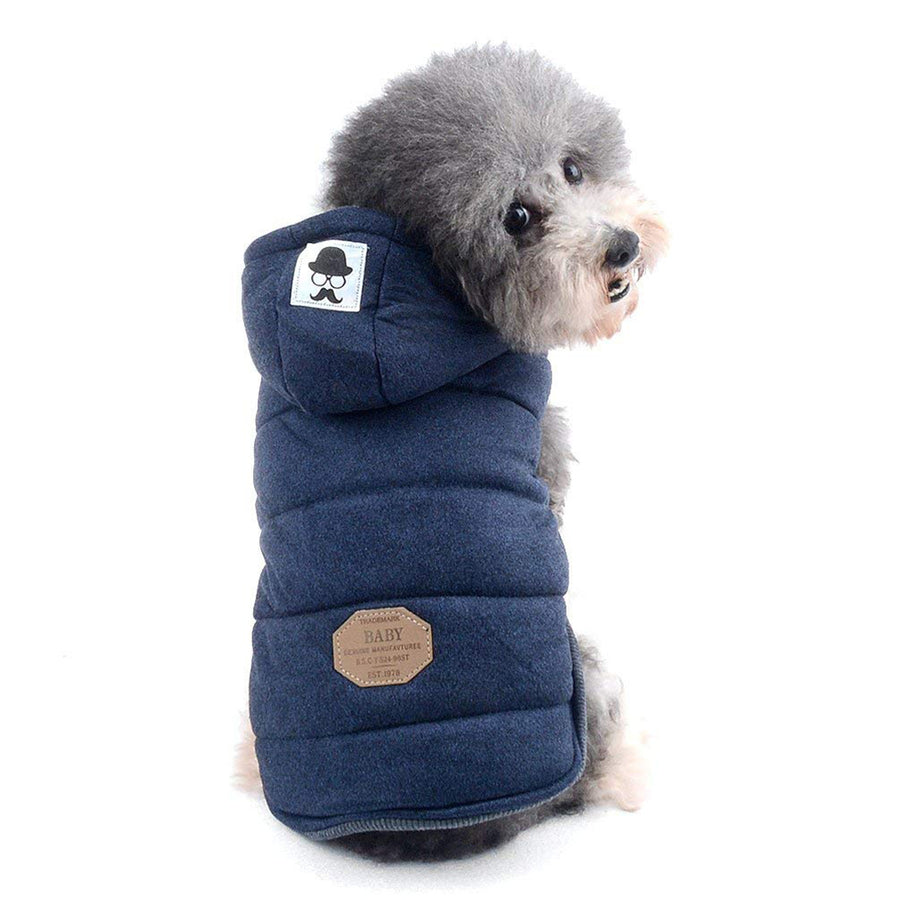Cute Pet Dog Winter Warm Coat Clothes