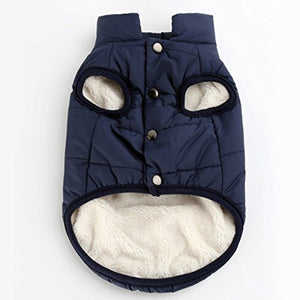 Dog Coat Jacket Autumn Winter Cute Cold Weather Puppy clothes Warm Vest