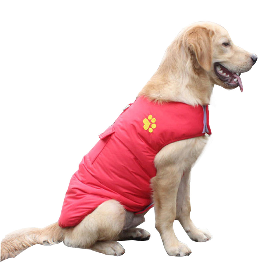 Dog Coat 100% Waterproof Thickened Jacket Autumn And Winter Warm jacket