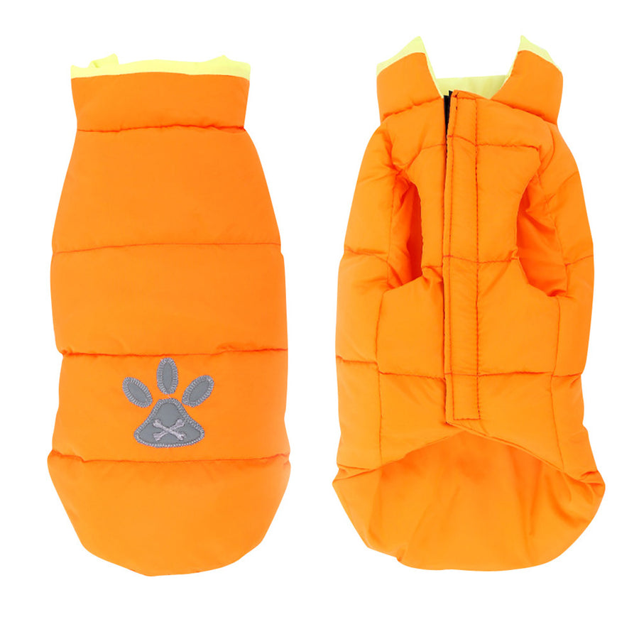 Pet Dog Winter Jacket ,Warm Puppy Waterproof ,Windproof,Reversible Dog Coat