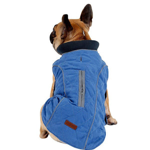 Pet Dog Winter Warm Jacket,Puppy Warm Vest ,Waterproof & Windproof Retro Style Pet Outfit