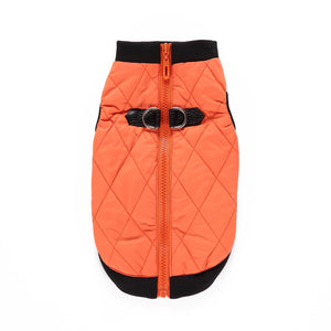 Winter Pet Dog Clothing Zip Jacket Style Windproof Clothing
