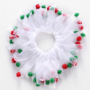Pet Christmas Collar Ring Halloween Supplies Ribbon Neck For Dog Christmas Hat