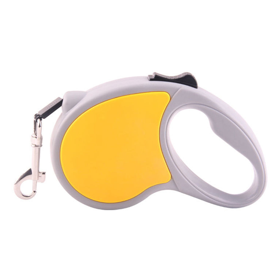 Qbleev retractable dog leash yellow