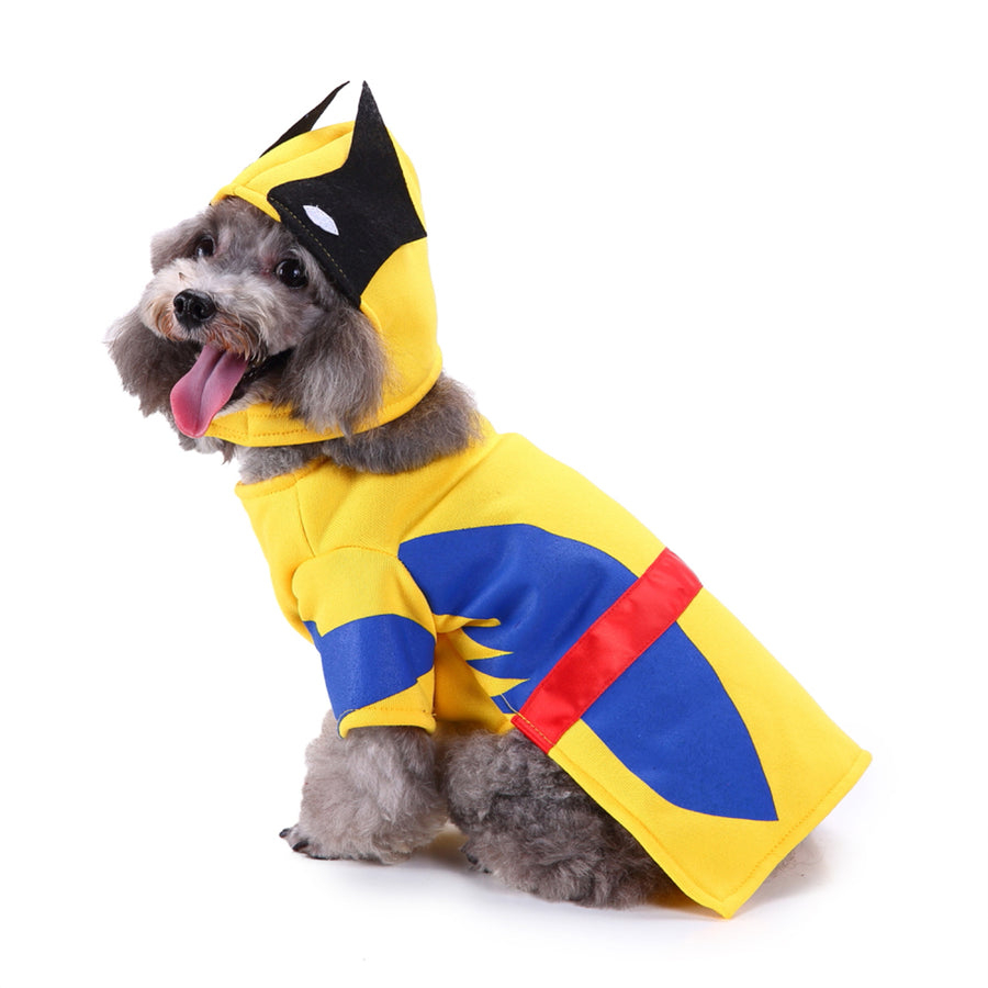 Pet Dog Cosplay Costume Puppy Lightning Dog  Coat For Halloween Party