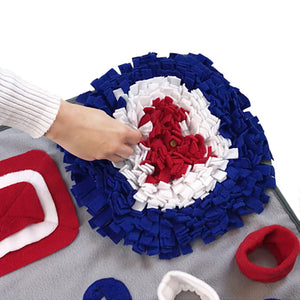 Dog Snuffle work Blanket, Puppy Feeder Place mat