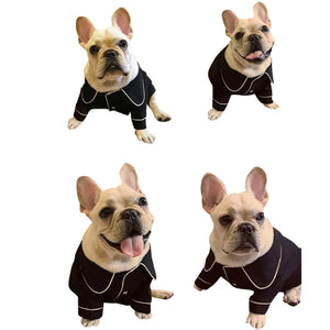 Silk Dog Pajamas QBLEEV