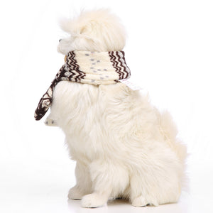Dog Christmas Soft Scarf Lovely Halloween  Accessories