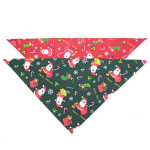 Dog Bandana Christmas Santa Claus