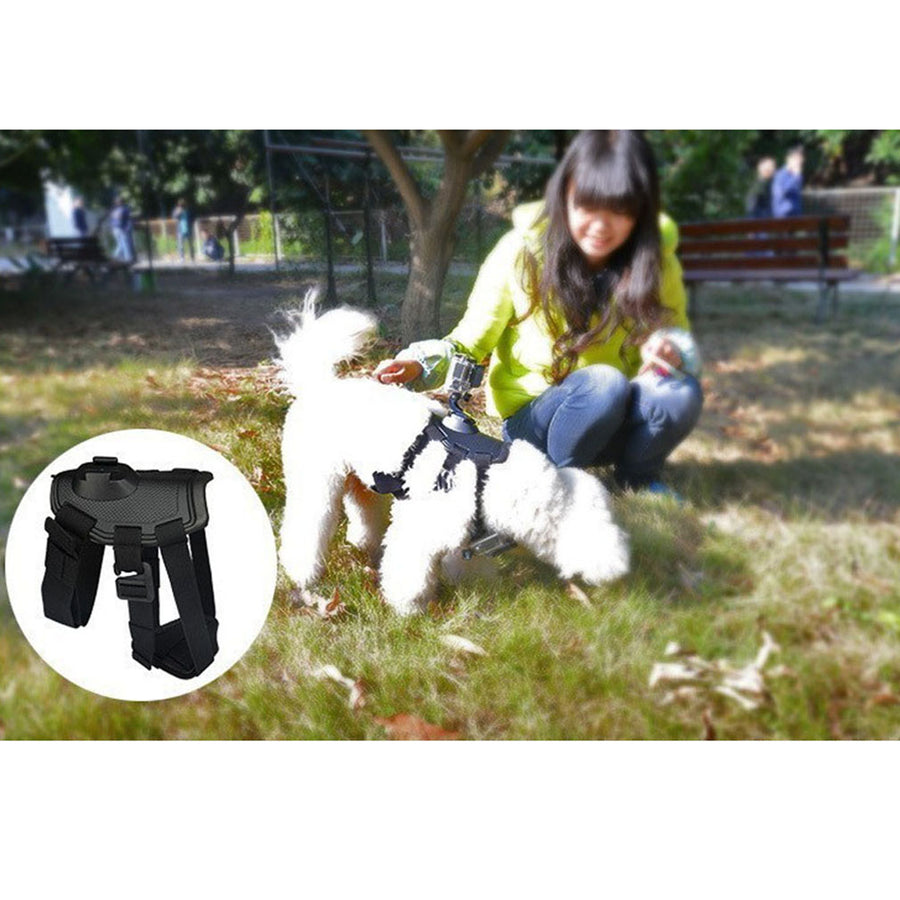 Pet Dog Sports Camera Strap For Go Pro Hero 5/4/3 Dog Puppy Strap