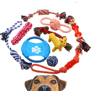 dog chew rope toys QBLEEV