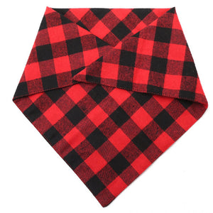 Qbleev dog bandana folded into triangle
