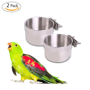 Parrot Feeders Water Bowls