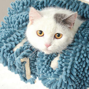 Cat Quick Dry Towel