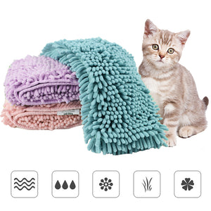 Pet Cat Towel