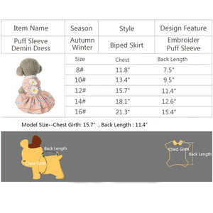 Sun Flower Dog Dress