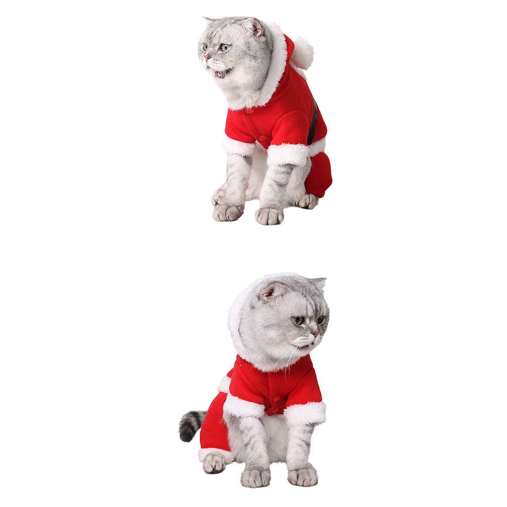 Women's Costumes Reliable Fashion Christmas Halloween Cat Costumes Soft Fleece Dog Cat Jumpsuit Pet Overalls Puppy Cat Clothes For Small Cat Dog Pet